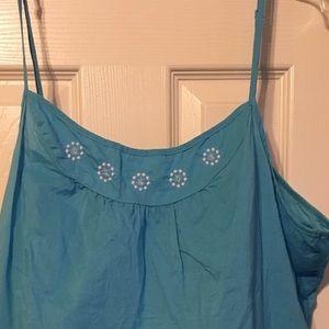 XXL old navy blue spaghetti strap top